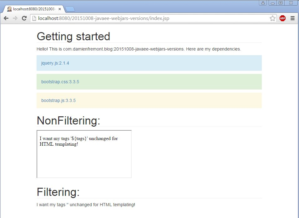 Webjars: Use Dynamic URLs for your Dependencies (VS