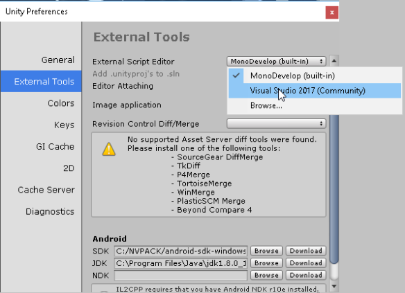 How to Unity3D – Use VisualStudio Script Editor and Debug