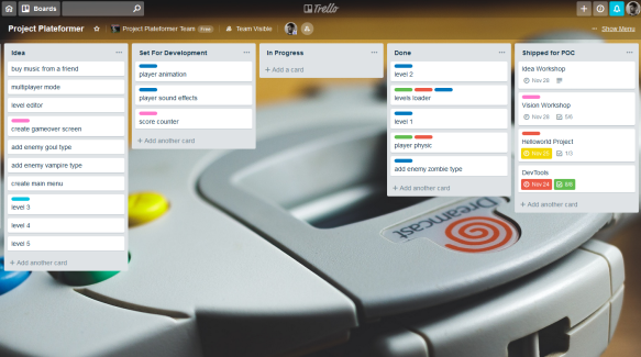 IndieGame – Using Trello for Project Management   Damien FREMONT